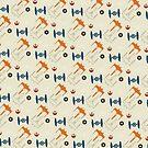 Spaceship Pattern by copywriter