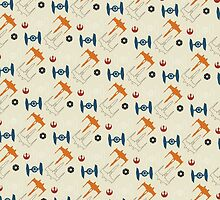 Spaceship Pattern by copywriter