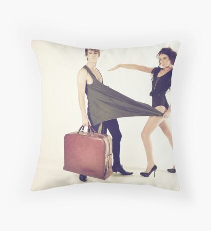 Domestic Throw Pillow