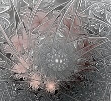 Jack Frost's Ice Painting (All proceeds donated to Cancer Research) by Bunny Clarke