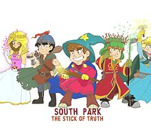 South Park Stick of Truth by chiika3