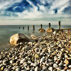 Breakwater, Colwyn Bay. by maxblack