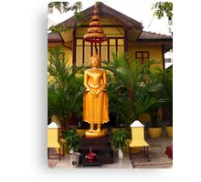 Buddha, Bangkok, Thailand Canvas Print