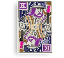 King Of blues Canvas Print
