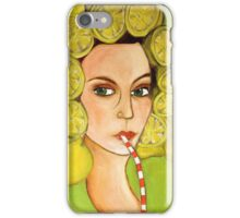 Lemon Head iPhone Case/Skin