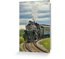 Old Steam Train 2024 Greeting Card