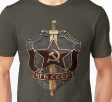 KGB Badge Unisex T-Shirt