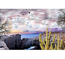 1242-Baja Sunset Photographic Print