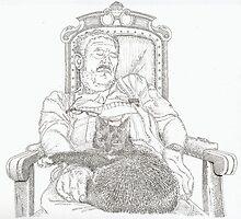 Royal rest by Sebastiaan Koenen