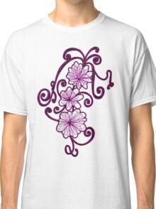 Floral Flair Classic T-Shirt