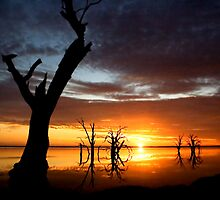 Lake Bonney Sunset 3 by Seesee