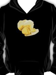 Yellow Rose Cutout T-Shirt