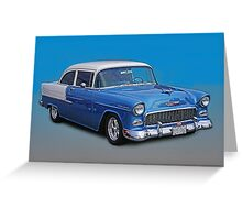 Two toned Chevy Greeting Card