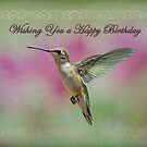 Happy Birthday Hummingbird by Bonnie T.  Barry