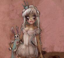 Girl 13 | smudged mascara by Erica Rosario