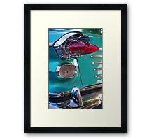 Double Bullet Tail Lights Framed Print