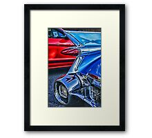 Unique Tail Light Framed Print