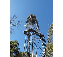 Fire Location Tower! Mt. Lofty, Adelaide Hills.  Photographic Print
