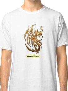 Golden Dragon tee-shirt and stickers Classic T-Shirt