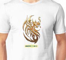 Golden Dragon tee-shirt and stickers Unisex T-Shirt