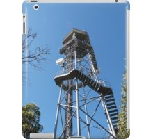 Fire Location Tower! Mt. Lofty, Adelaide Hills.  iPad Case/Skin