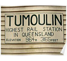 Riding Capella - Tumoulin Station Poster