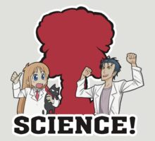 steins gate nichijou science anime manga shirt by JordanReaps