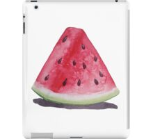 Watercolor Watermelon iPad Case/Skin