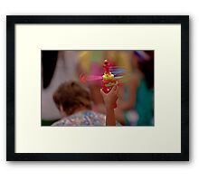 Spinning Elmo Framed Print