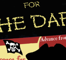 Piracy for the Daft Sticker