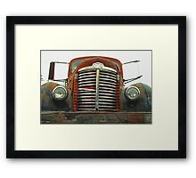 Old International Grill Framed Print