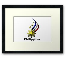 Philippine Logo Design by nhk999 Framed Print