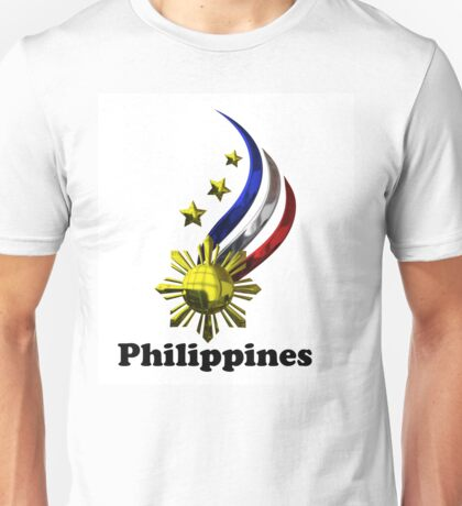 Philippine Logo Design by nhk999 Unisex T-Shirt