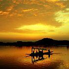 Dal Lake - II by RajeevKashyap