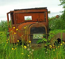 Old Washington Rusted Ford by rharrisphotos