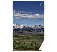 Mountain Range Poster