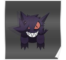 Gengar used Shadow Punch! Poster
