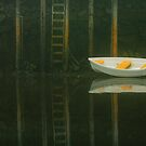Rowboat, Port Clyde, Maine by fauselr