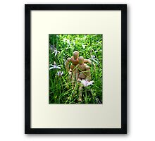 Manikin Love Framed Print