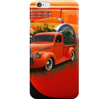 Orange Ford Pick-up Custom iPhone Case/Skin