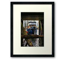 The Velma-C Fishing Boat Framed Print