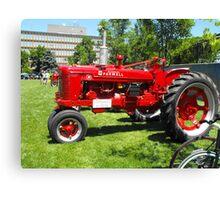 Tractor Restored Canvas Print