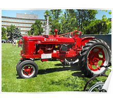 Tractor Restored Poster