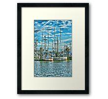 Prancer Fishing Boat Framed Print