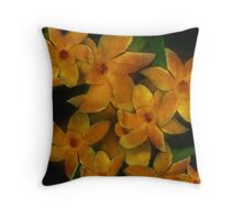For The Love of Daffodils Throw Pillow
