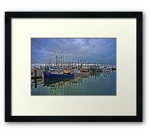 Steveston Fishing Boats Framed Print