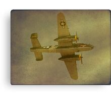 B24J Mitchell  -  Executive Sweet Canvas Print