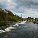Bridge across the River Boyne by Martina Fagan