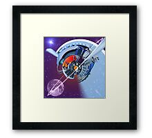 Peterbilt Abstract Framed Print