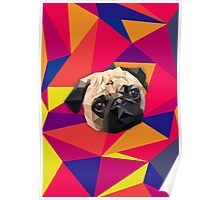 This pug loves you Poster